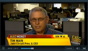 Tim Main, CEO of Jabil, on CNBC's Mad Money